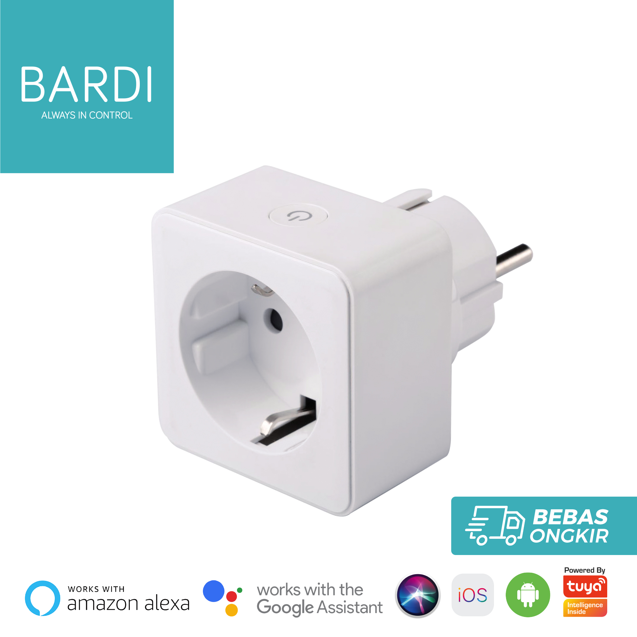 BARDI Smart PLUG WiFi Wireless Colokan - IoT Smart Home