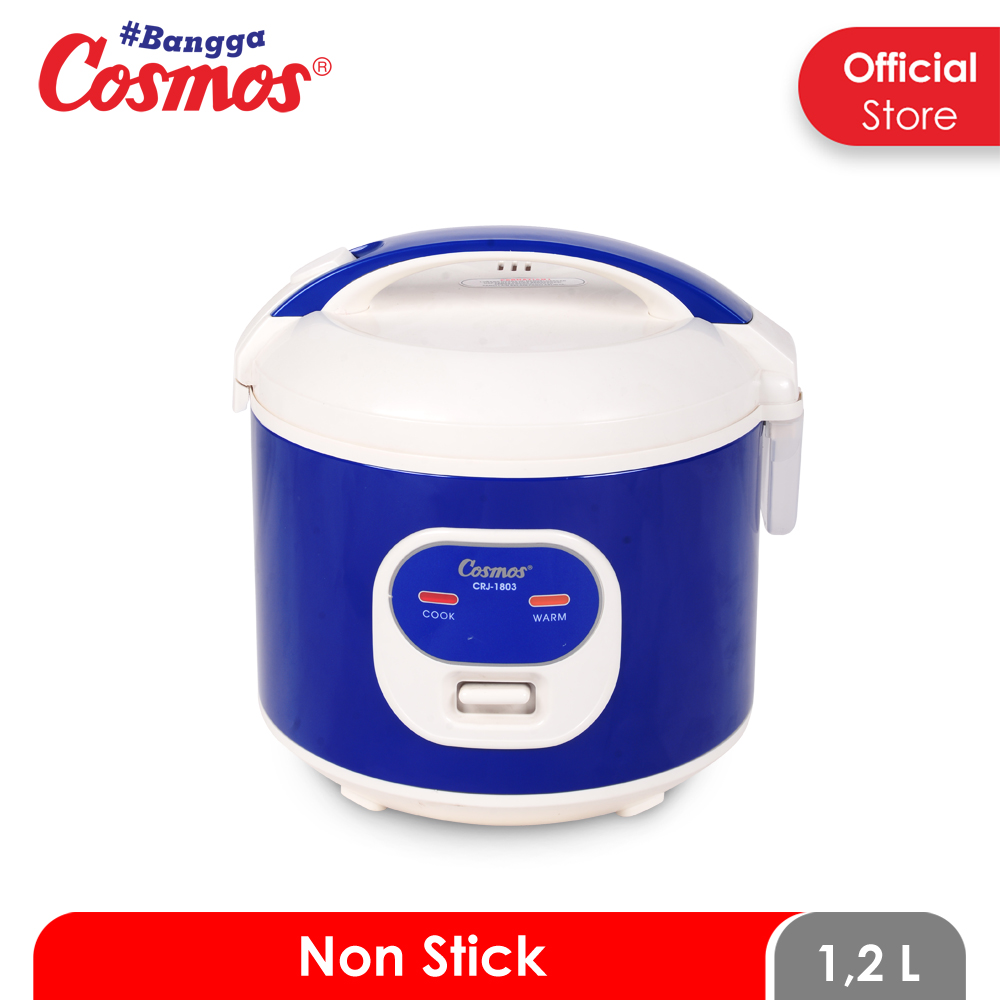 RICE COOKER COSMOS CRJ 1803 3IN1 1.2L