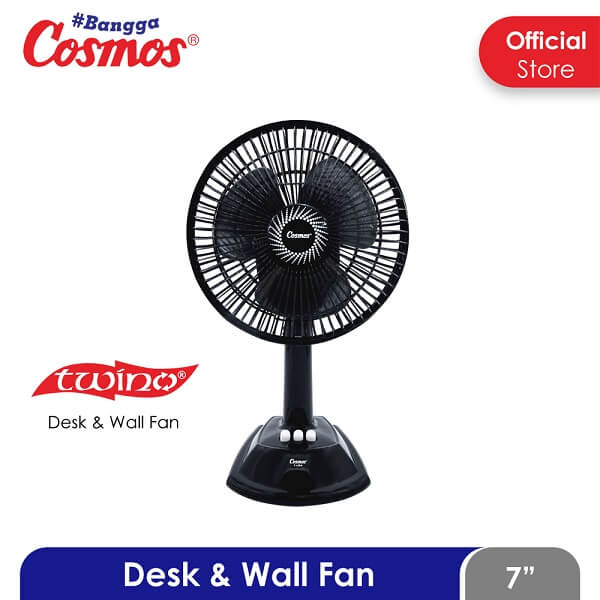COSMOS 7 LDA TWINO KIPAS ANGIN 2IN1 DESK & WALL
