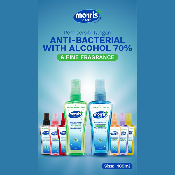 MORRIS HAND SANITIZER MINI SPRAY 100ML