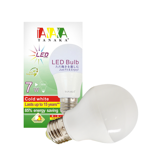 LED BULB SUPER 7W - WHITE TANAKA