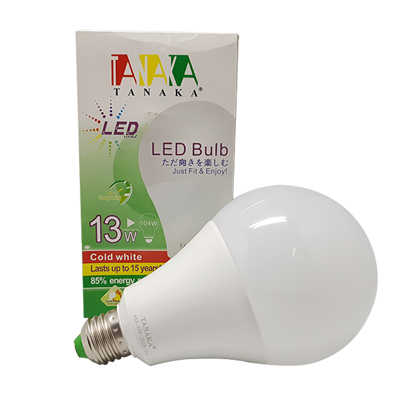 LED BULB SUPER 13W - WARM WHITE TANAKA