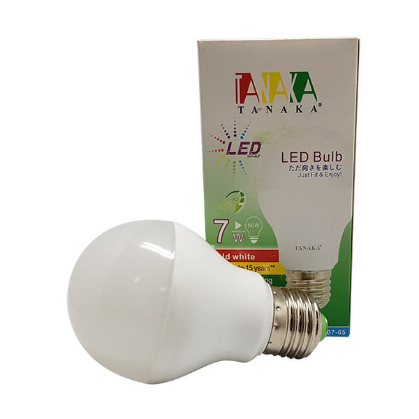 LED BULB SUPER 7W - WARM WHITE TANAKA
