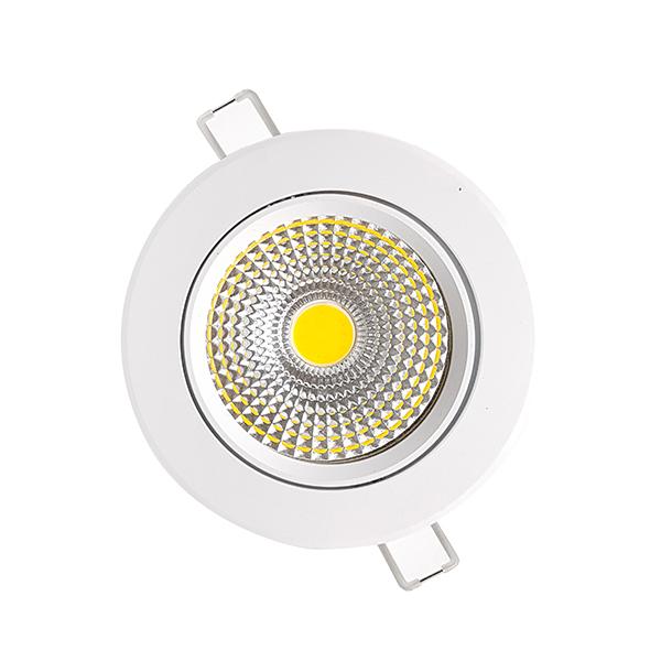 LED DOWNLIGHT TRANSPARAN ADJUSTABLE 5W-WHITE