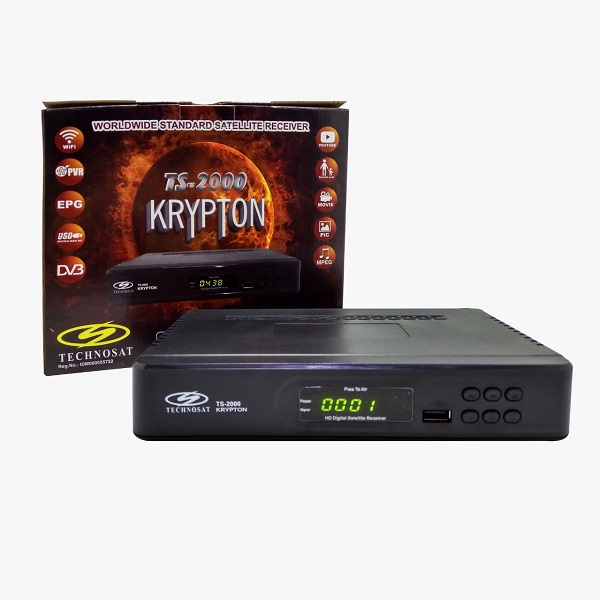 RECEIVER RCV TS-2000 KRYPTON HD