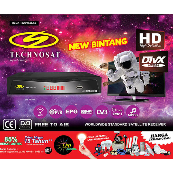 RECEIVER RCV TS-2000 NEW BINTANG HD