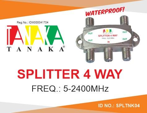 SPLITTER 4 WAY